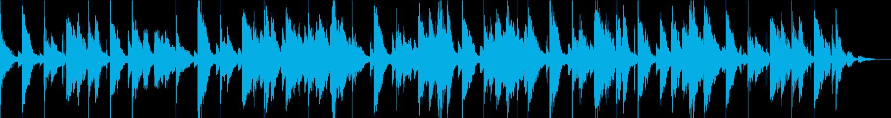 ピアノの刺し傷とホーン部分が組み合...の再生済みの波形