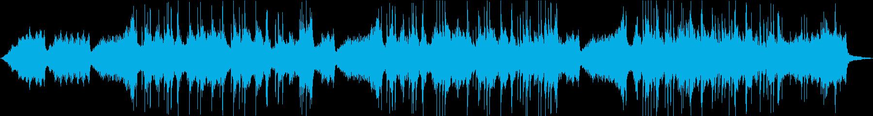 ソルフェジオ周波数による癒しのクリスマスの再生済みの波形
