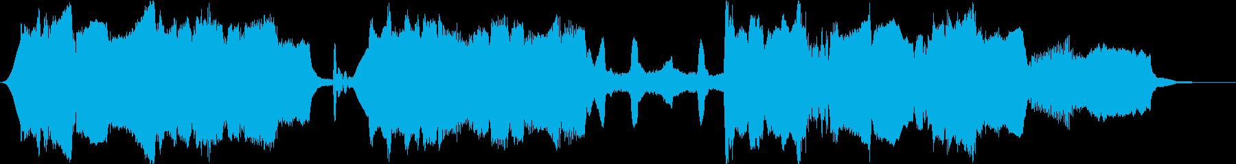 しっとりとしたクラリネット主体の室内楽風の再生済みの波形