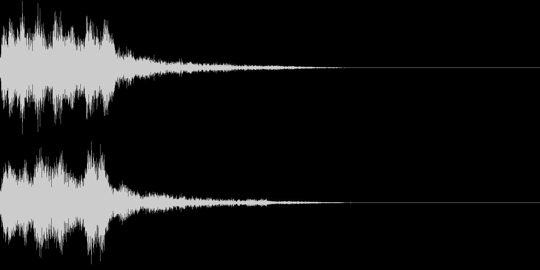 レベルアップ 発見 気付き 閃き ベルの未再生の波形