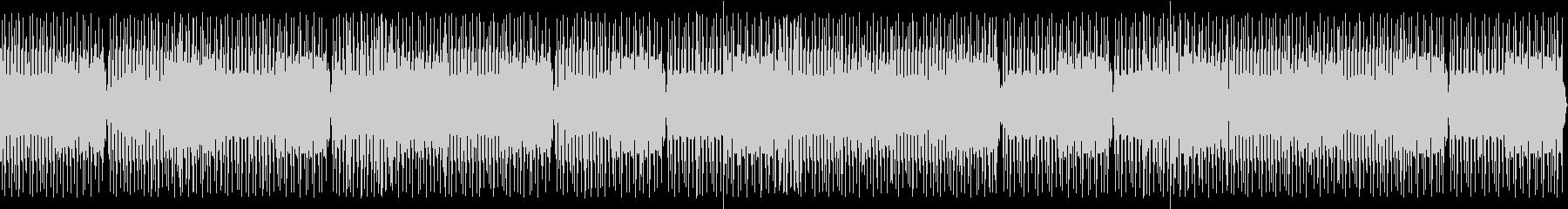 喋り動画用_サイケなハウス系ビートBGMの未再生の波形