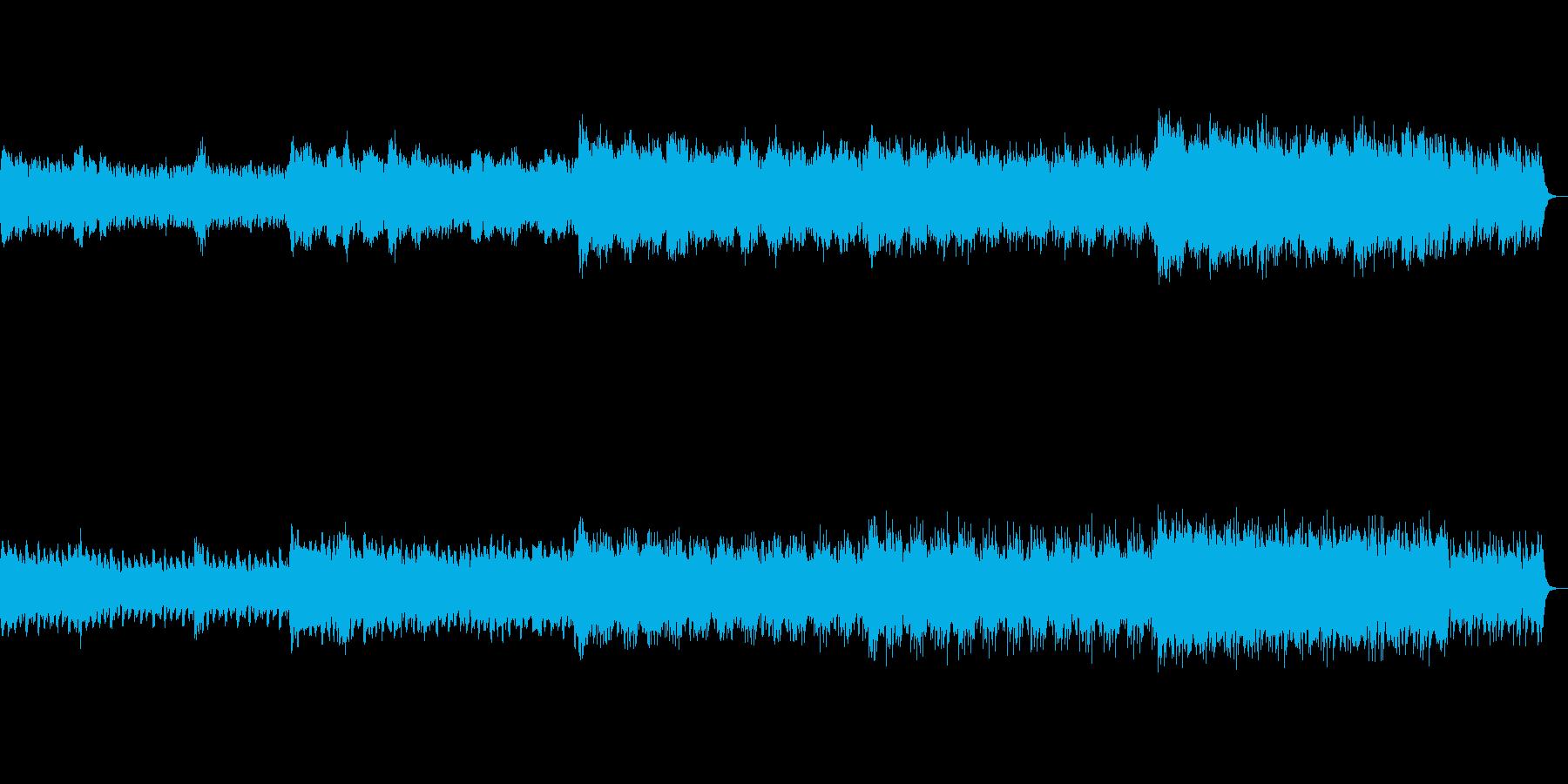 夏のお盆をイメージした幻想的なBGMの再生済みの波形