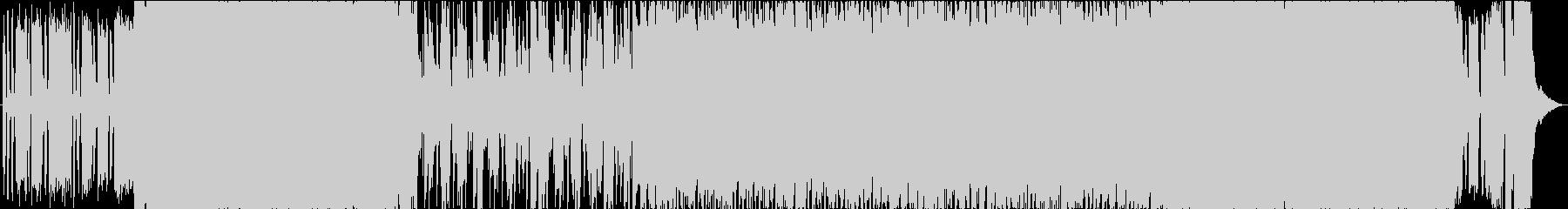 ジャキジャキサウンドで始まるロックの未再生の波形