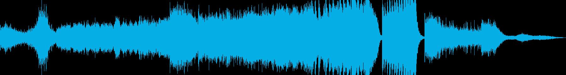 ストリングスによる壮大な長編曲の再生済みの波形