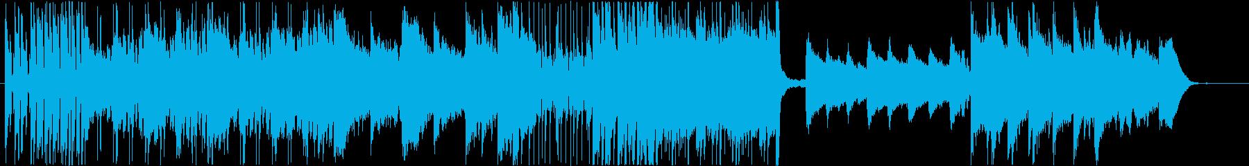 ダンジョン/パンフルート/わくわく等の再生済みの波形
