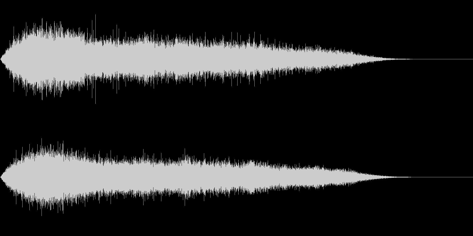 歓声5 (スタジアムなどの大歓声2)の未再生の波形