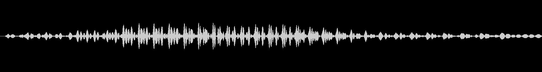 ロン (麻雀)の未再生の波形