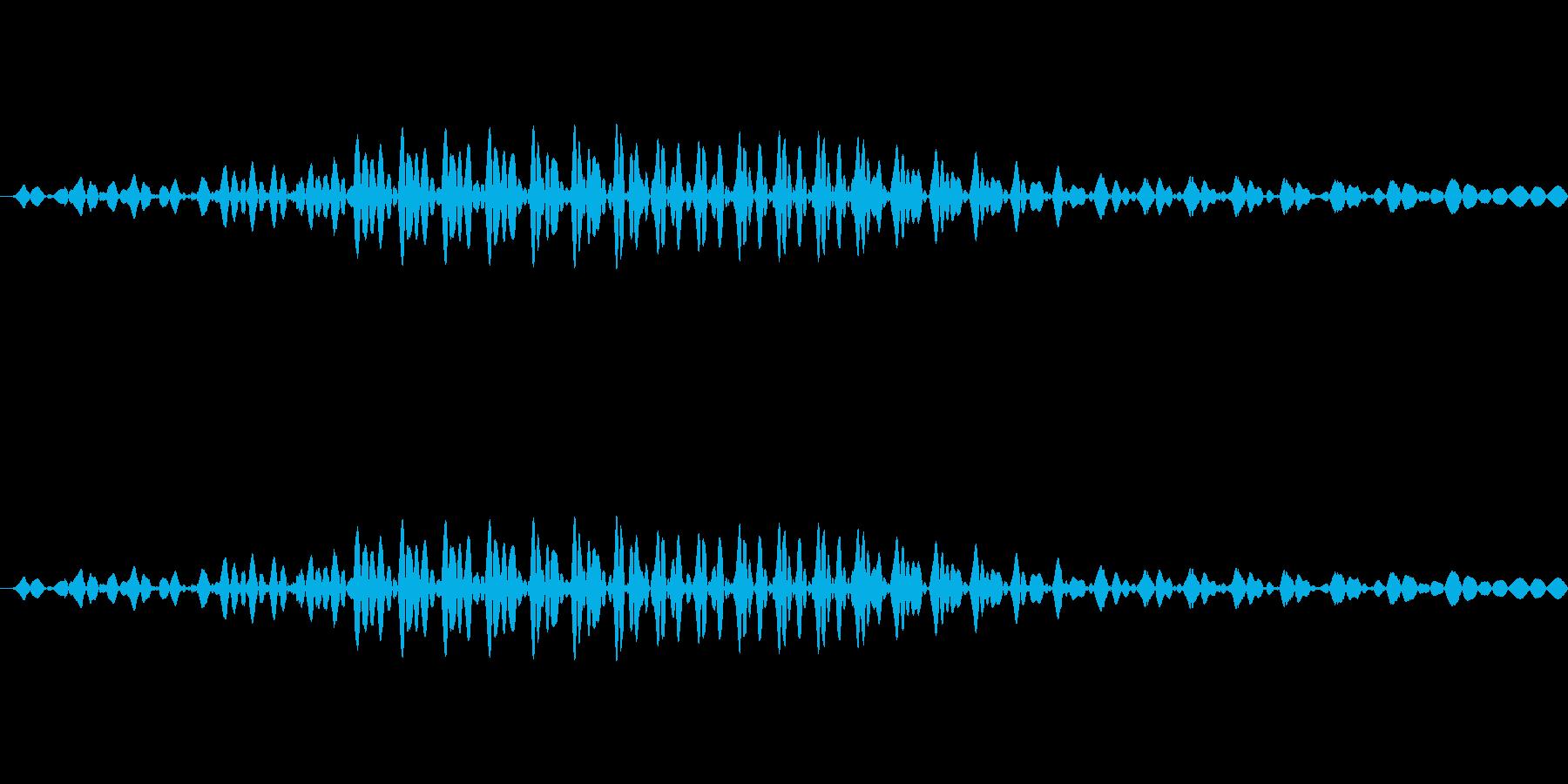 ロン (麻雀)の再生済みの波形