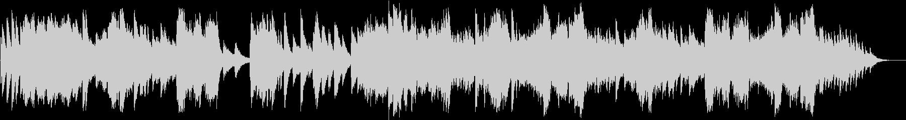 世界 ピアノ フラメンコの未再生の波形