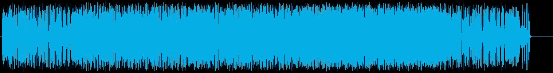 レース 激しい 若さ CM スピードの再生済みの波形