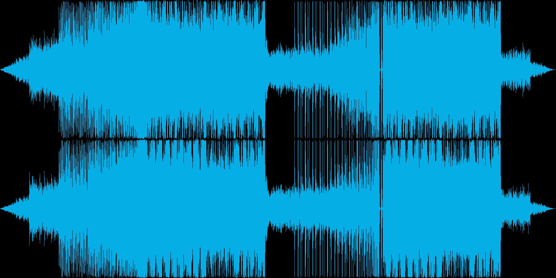 壮大な雰囲気のDubStepの再生済みの波形