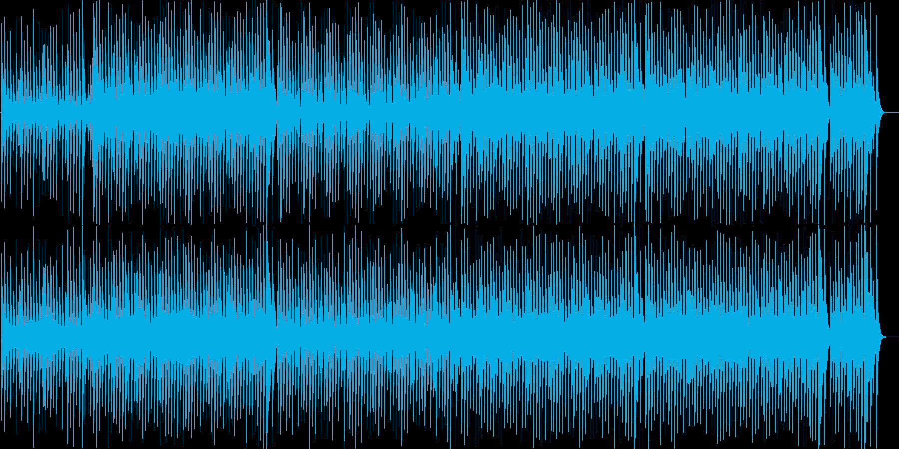 クリスマスソング「ジングルベル」の再生済みの波形