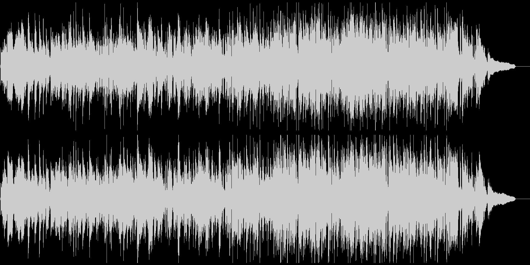 幸せな雰囲気の静かで素敵なジャズ・ワルツの未再生の波形
