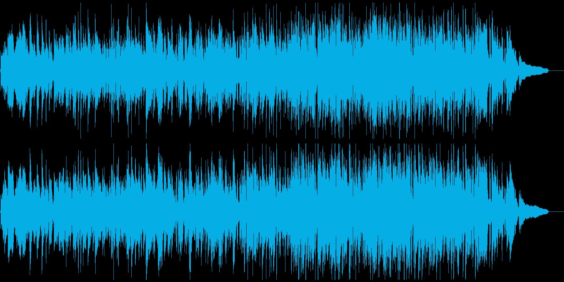 幸せな雰囲気の静かで素敵なジャズ・ワルツの再生済みの波形