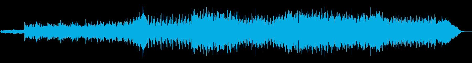 洗練されたオーケストラBGMの再生済みの波形