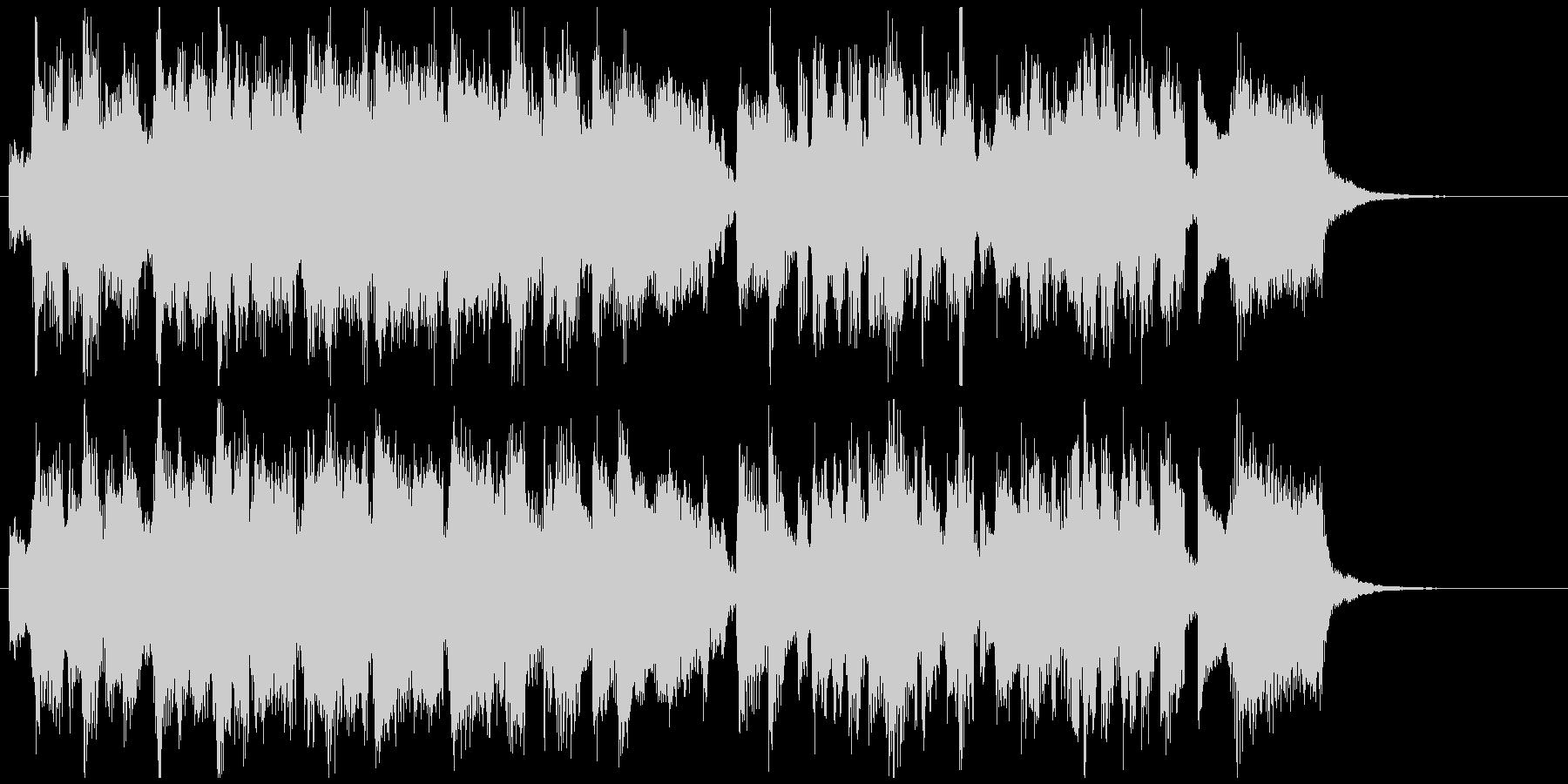 CM向け15秒ジャズ■ベーシックな王道系の未再生の波形