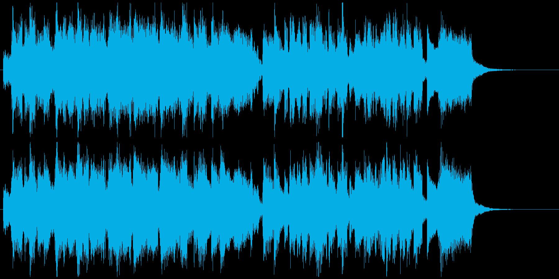CM向け15秒ジャズ■ベーシックな王道系の再生済みの波形