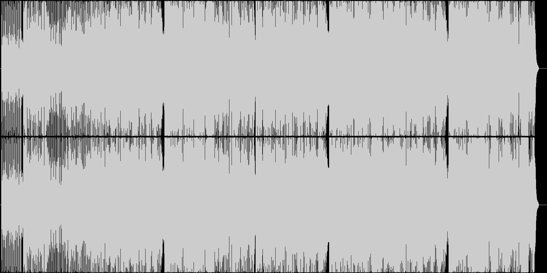 「時を駆け抜ける疾走感溢れるポップス」の未再生の波形