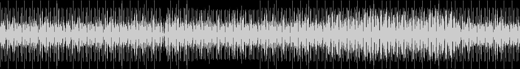 クールなチルホップ系BGMの未再生の波形