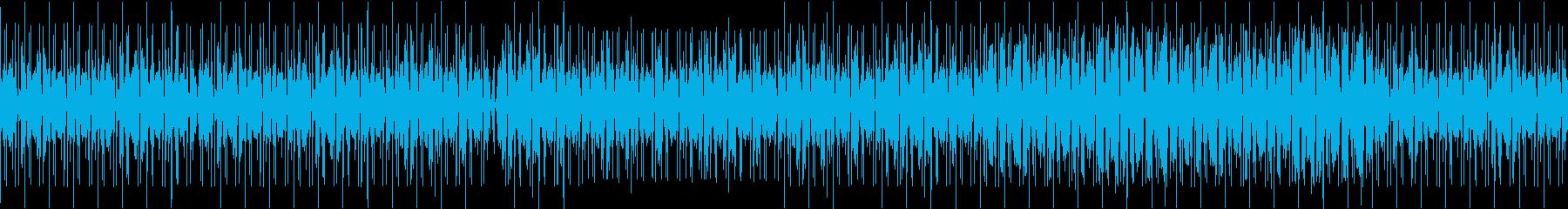 クールなチルホップ系BGMの再生済みの波形