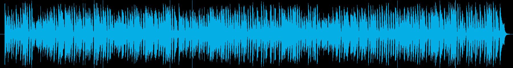トークや遊び、ティータイム向けBGMの再生済みの波形