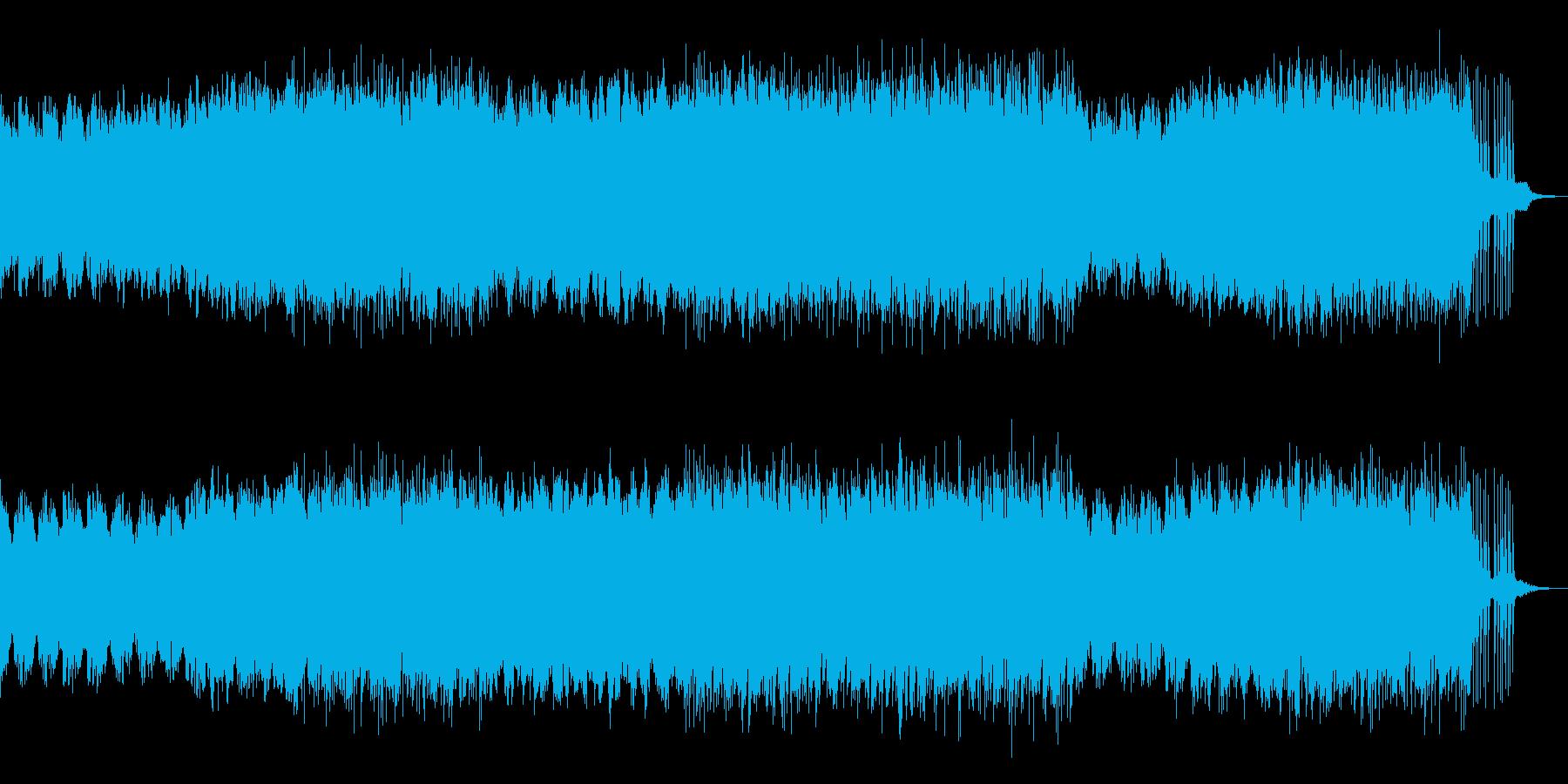 映画音楽、荘厳重厚、ピアノアルペ-11の再生済みの波形
