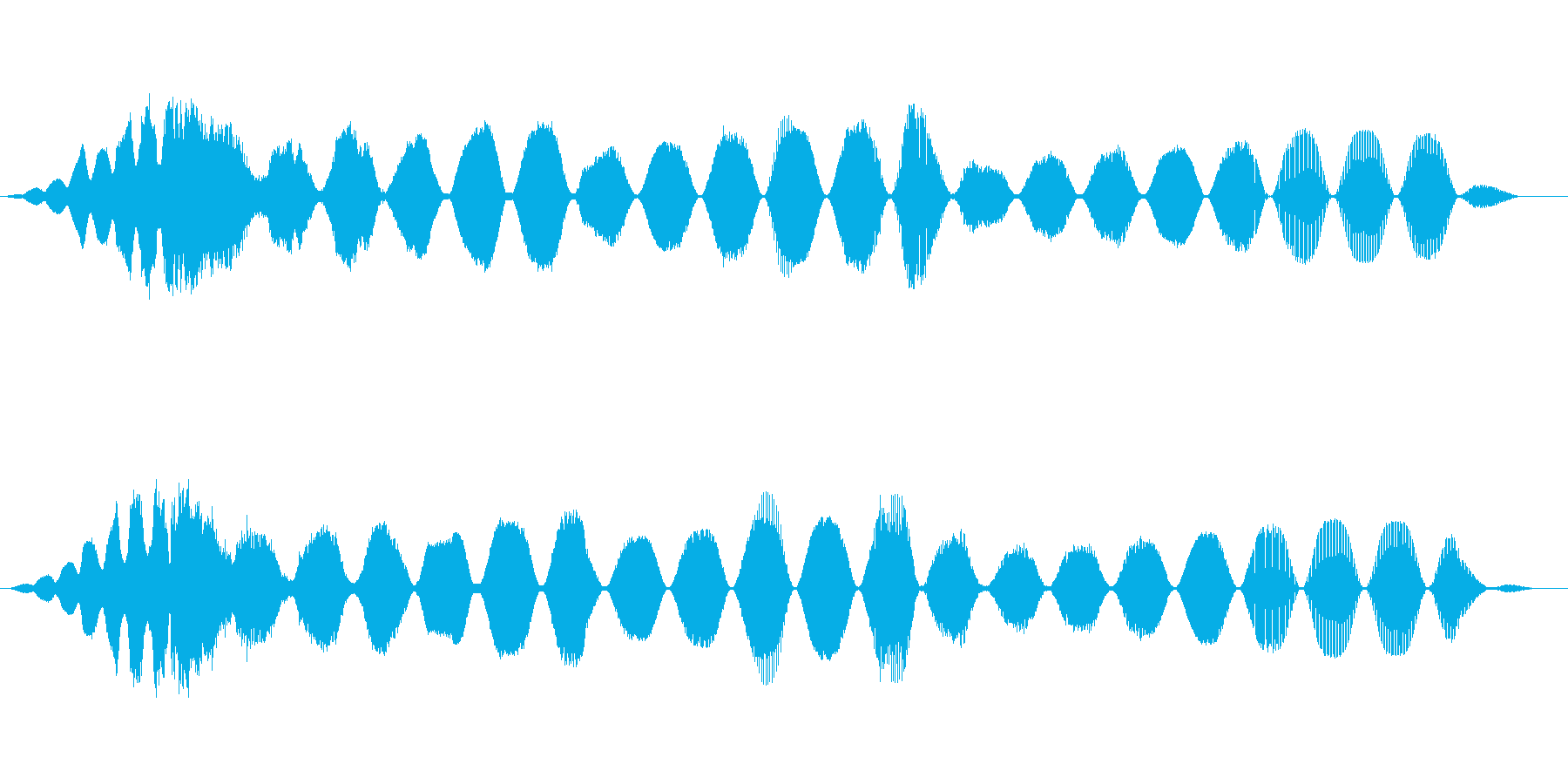 スペースレースの解消の解決の再生済みの波形