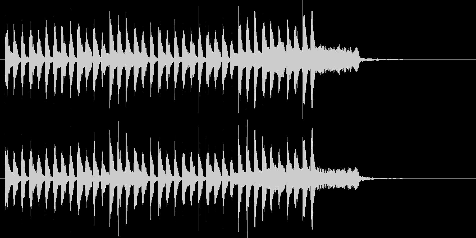 和楽器のほのぼのしたメロディの和風ポップの未再生の波形