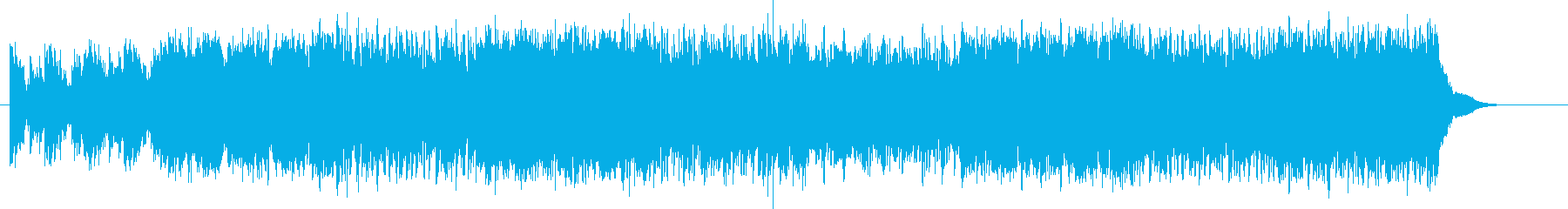 都会 エンディング 科学 機械 報道の再生済みの波形