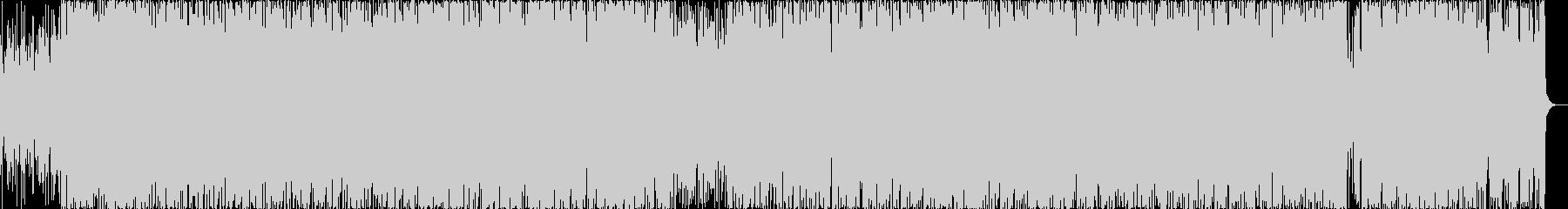 エキゾチックなラテン調の曲の未再生の波形