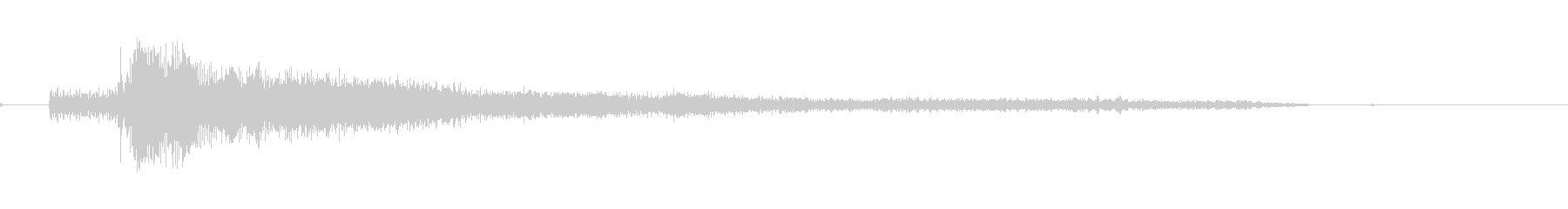 ドラッグスター-モト-ホームの未再生の波形