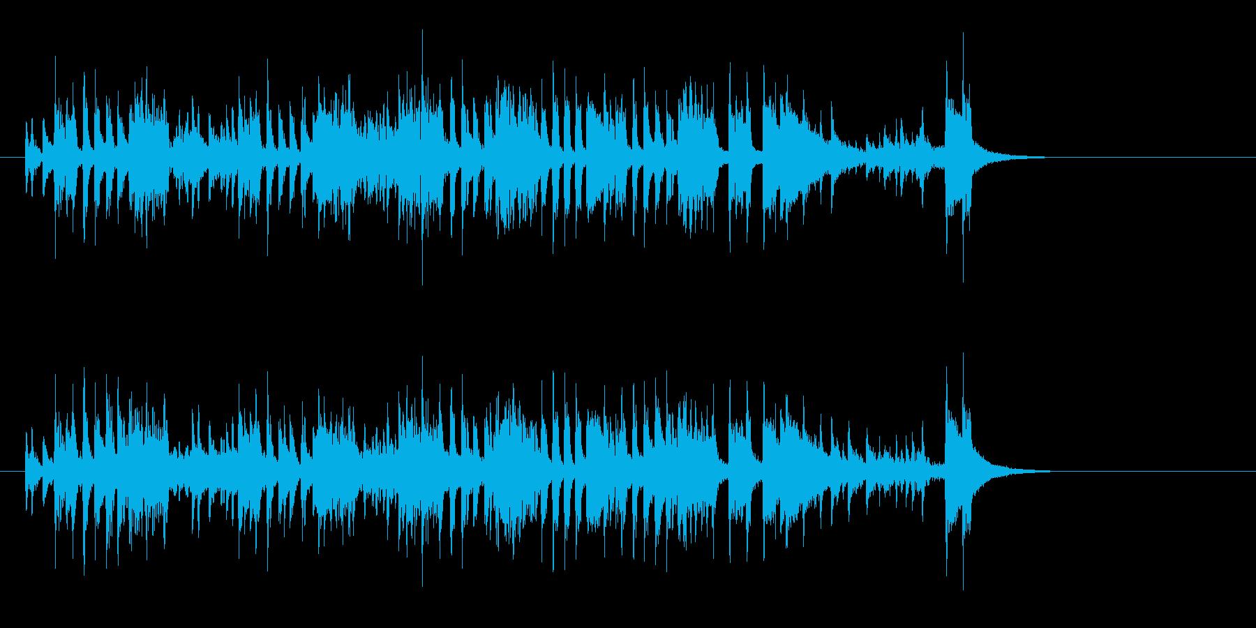 はでなエンディング向きクールなサウンドの再生済みの波形