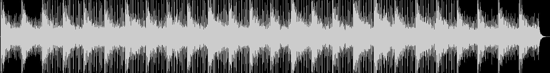 電子音のループが心地よいチルアウトの未再生の波形