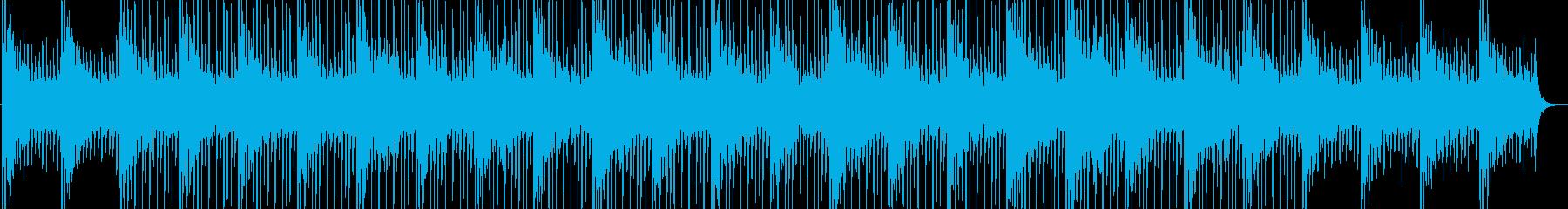 電子音のループが心地よいチルアウトの再生済みの波形