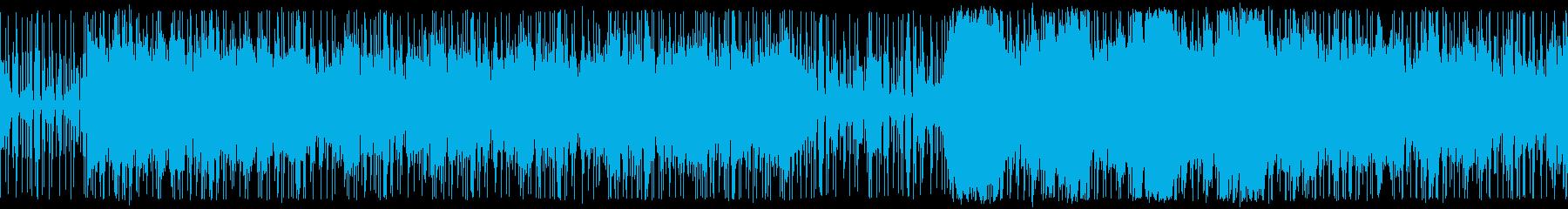 近未来 絶体絶命の脱出劇 ループ仕様の再生済みの波形
