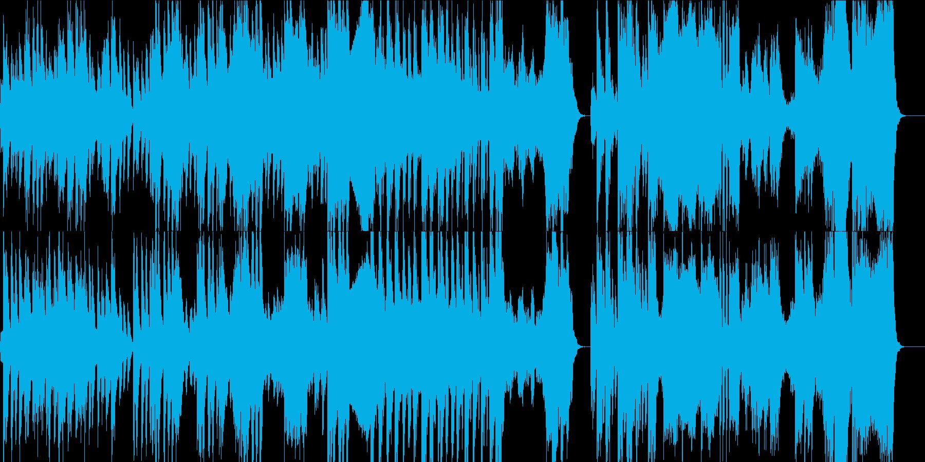 オーケストラ 徐々に近づく時間の再生済みの波形