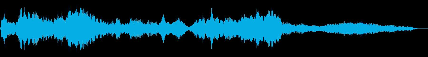 アコーデオン:短い音楽アクセント、...の再生済みの波形