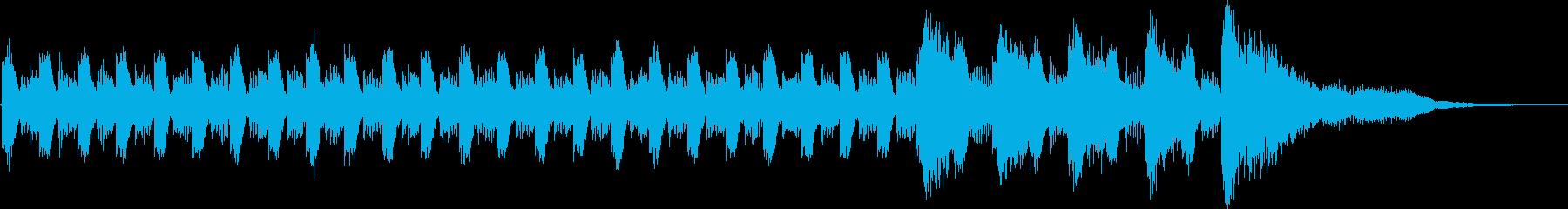 カウントダウン4321whoo!の再生済みの波形