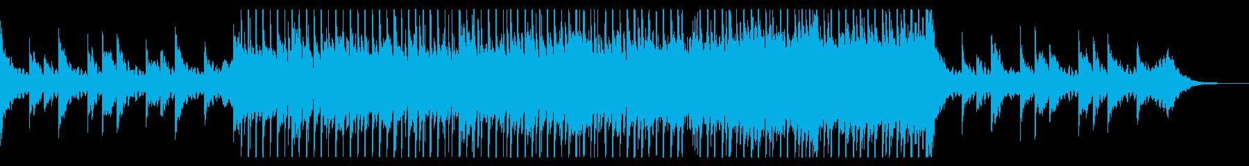 穏やかでかわいらしいエレクトロ・ポップの再生済みの波形