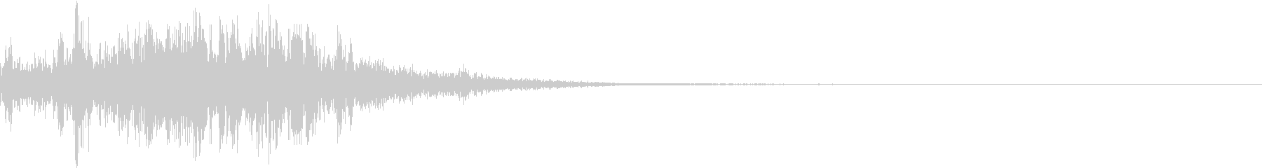 CINEMATIC SFX_HEAVYの未再生の波形
