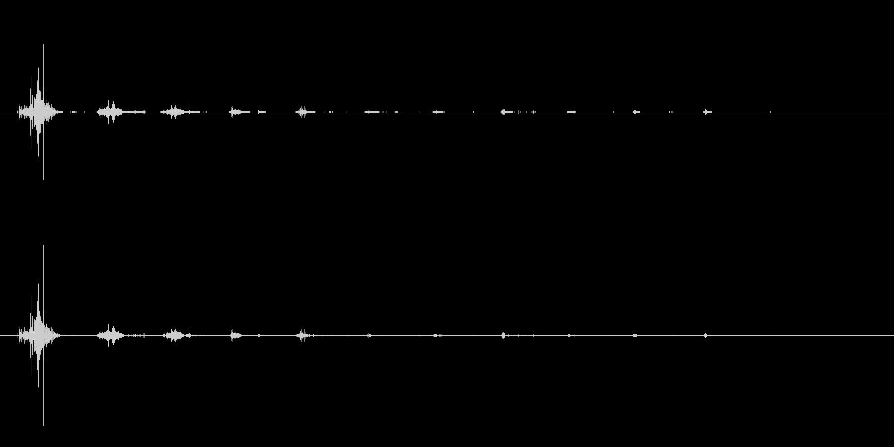 咀嚼音/カリッ/ASMR/ボリボリ/噛むの未再生の波形