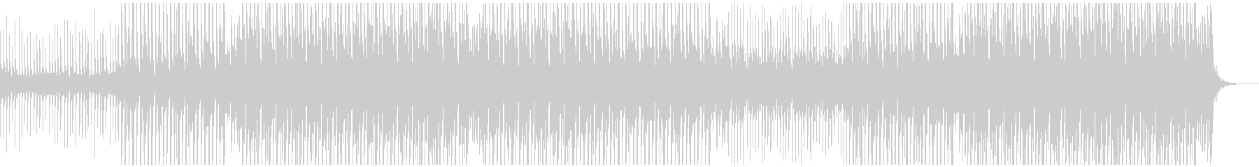 パーティーポップミュージックの未再生の波形