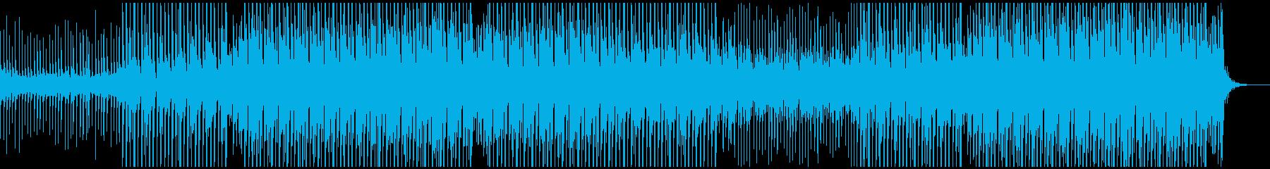 パーティーポップミュージックの再生済みの波形