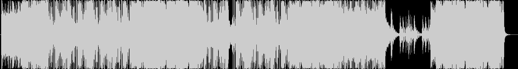 洋楽R&B系ミッドテンポトラックの未再生の波形