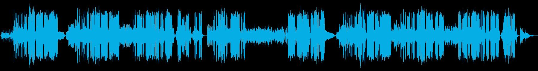 ユニークなクラシック風ボーカル曲の再生済みの波形
