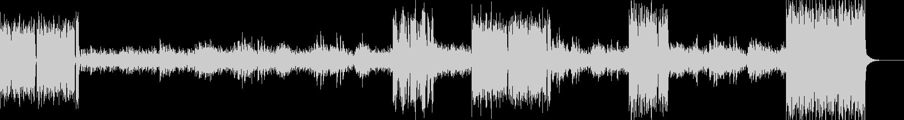 ヒカリノセイの未再生の波形