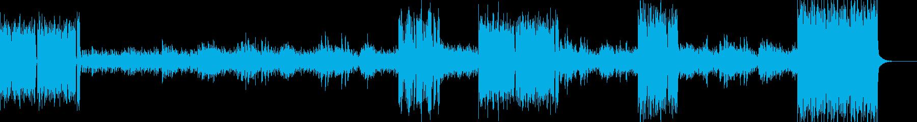ヒカリノセイの再生済みの波形