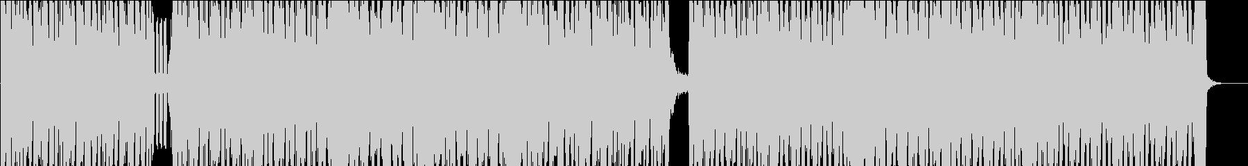 16秒でサビ、電子音イケイケ/カラオケの未再生の波形