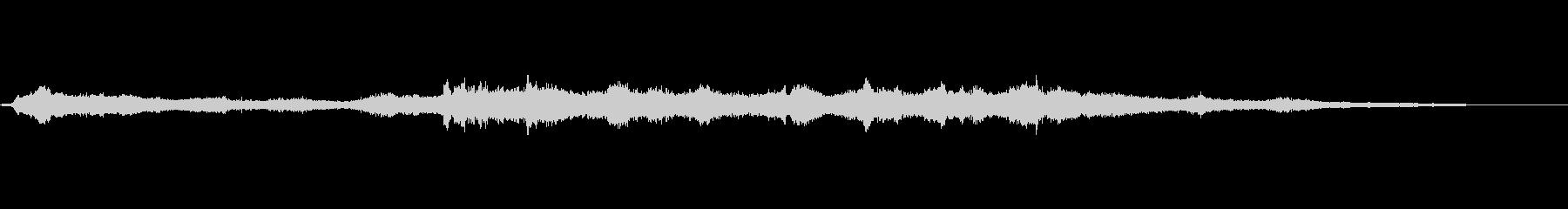 ヒュワワーン ジリジリシューの未再生の波形