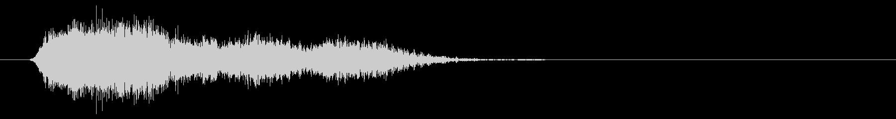 シマー、フェーズを使用した電子下降の未再生の波形